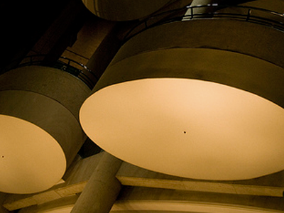 Bonaventure Hotel lamps
