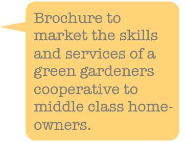green gardener brochure