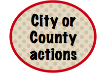 city or country actions