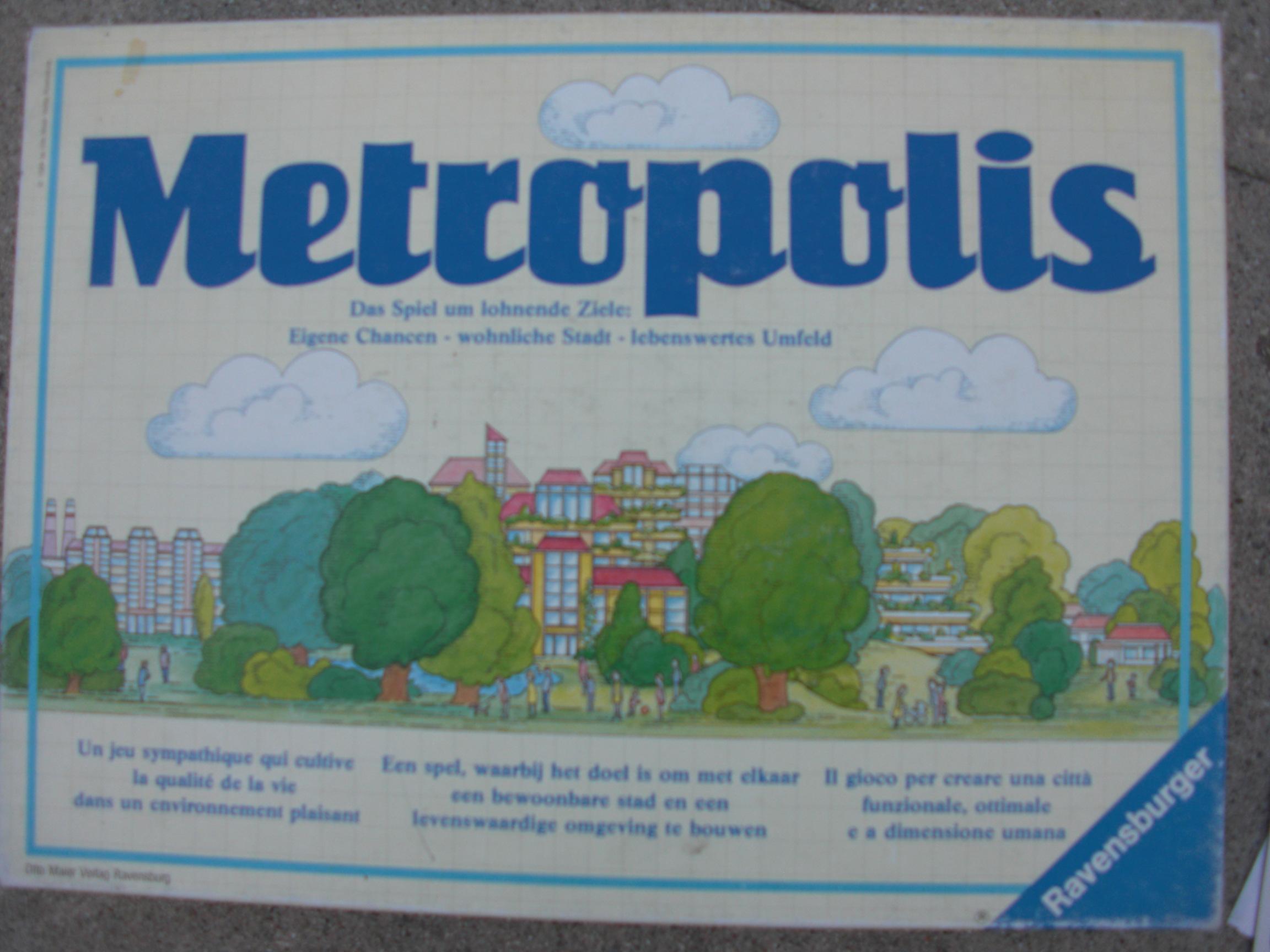metropolis game box