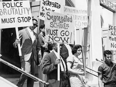 Anti-Racist demo, 1960s
