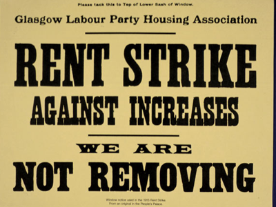 Glasgow Rent Strike 1915