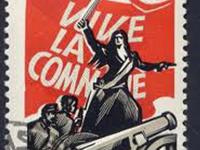 Paris Commune stamp