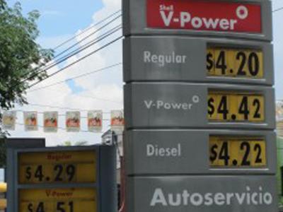 El Salvador Gas Station