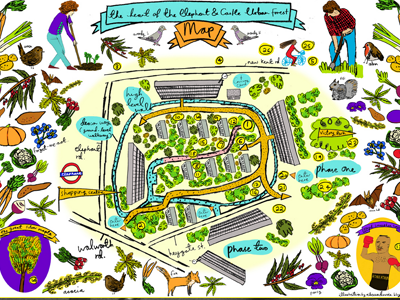 Heygate map