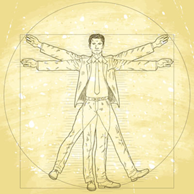 The gallery for --> Vitruvian Man