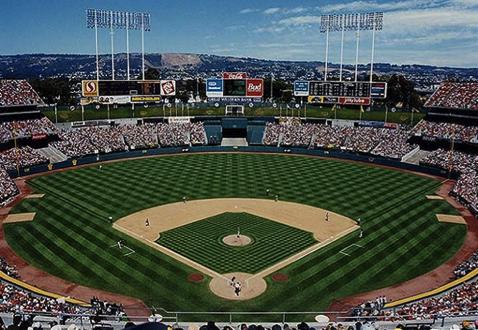 Oakland Coliseum 1993