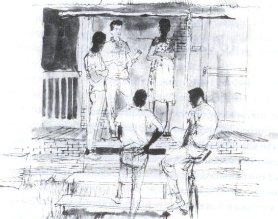 Freedom Summer drawing