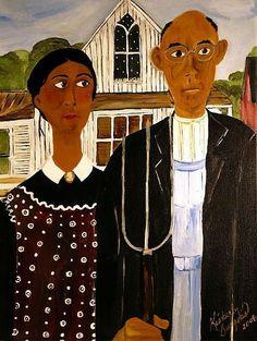 black american gothic
